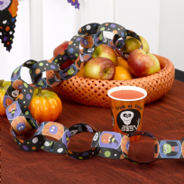 Trick Or Treat Paper Chains (3m)